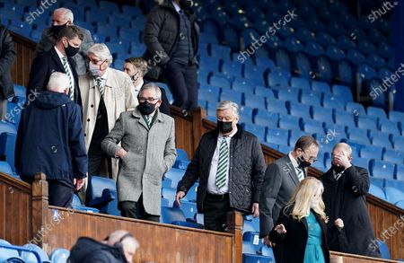 Editorial photo of Rangers v Celtic, William Hill Scottish Cup, Fourth Round, Football, Ibrox Stadium, Glasgow, UK - 18 Apr 2021