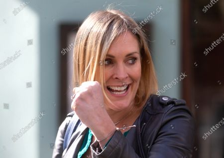 Editorial picture of Jenni Falconer out and about, London, UK - 16 Apr 2021