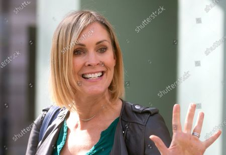 Stock Photo of Jenni Falconer out and about.