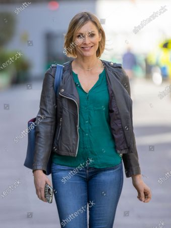 Editorial image of Jenni Falconer out and about, London, UK - 16 Apr 2021