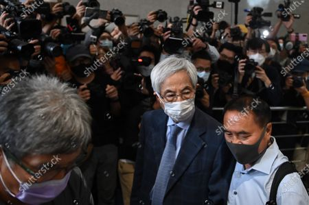 Editorial photo of Hong Kong Pro-Democracy Activist Leaves Court After Sentence - 16 Apr 2021