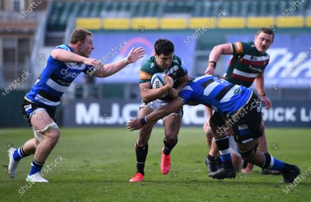Editorial image of Bath Rugby v Leicester Tigers, Gallagher Premiership, Rugby, The Recreation Ground, Bath, UK - 18 Apr 2021
