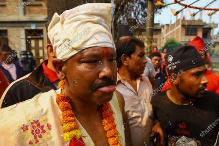 Tongue Piercing Festival, Kathmandu