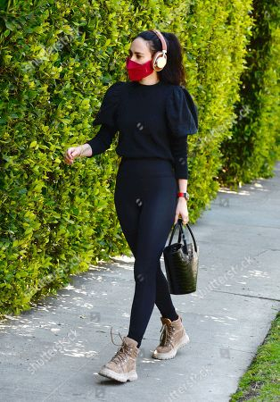 Editorial picture of Rumer Willis out and about, Los Angeles, California, USA - 16 Apr 2021