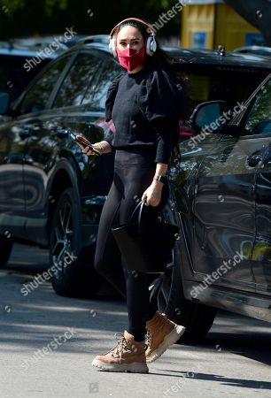 Editorial image of Rumer Willis out and about, Los Angeles, California, USA - 16 Apr 2021