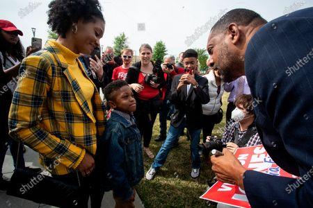 Editorial image of Election 2022 Vernon Jones, Atlanta, United States - 16 Apr 2021