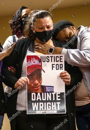 Daunte Wright press conference, Minneapolis