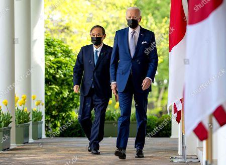 Prime Minister Yoshihide Suga visit to Washington DC