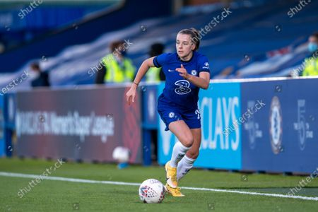 Editorial image of Chelsea v London City Lionesses, Vitality Womens FA Cup, Kingsmeadow Kingston, UK - 16 Apr 2021