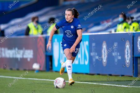 Editorial photo of Chelsea v London City Lionesses, Vitality Womens FA Cup, Kingsmeadow Kingston, UK - 16 Apr 2021