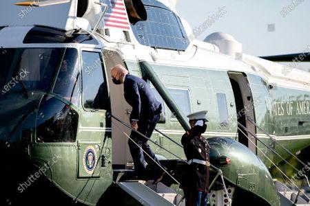 Joe Biden departs for Wilmington, Washington DC