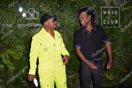 Pharrell Williams and David Grutman open The Goodtime Hotel in Miami Beach. Doral, Florida