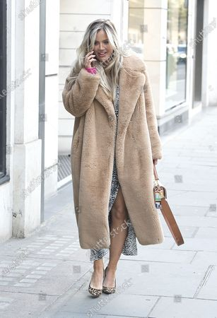 Tabitha Willett out and about, London