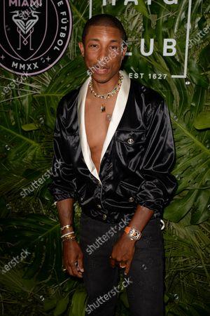 Stock Photo of Pharrell Williams