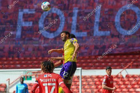Editorial photo of Nottingham Forest v Huddersfield Town, EFL Sky Bet Championship - 17 Apr 2021