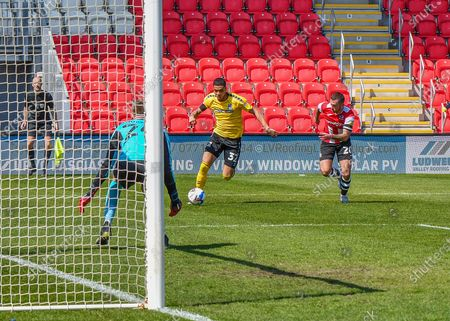 Editorial picture of Exeter City v Southend United, EFL Sky Bet League 2 - 17 Apr 2021