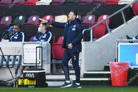 Editorial photo of Brentford v Millwall, EFL Sky Bet Championship - 17 Apr 2021