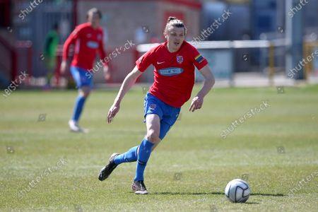 Matt Robinson of Dagenham during Dagenham & Redbridge vs Solihull Moors, Vanarama National League Football at the Chigwell Construction Stadium on 17th April 2021