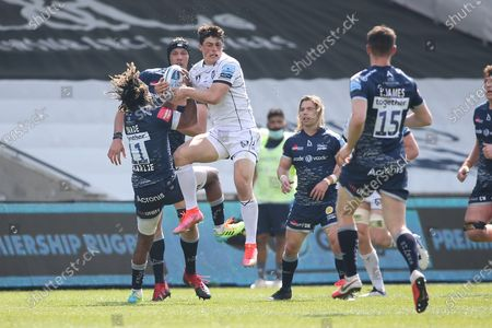 Editorial picture of Sale Sharks v Gloucester Rugby, Gallagher Premiership Rugby - 17 Apr 2021