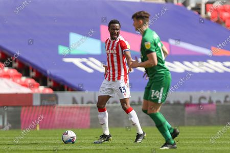 Stoke City midfielder Mikel John Obi (13) during the EFL Sky Bet Championship match between Stoke City and Preston North End at the Bet365 Stadium, Stoke-on-Trent