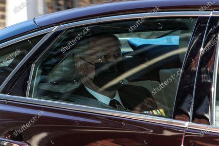 Duke of Gloucester leaves Kensington Palace for Windsor Castle