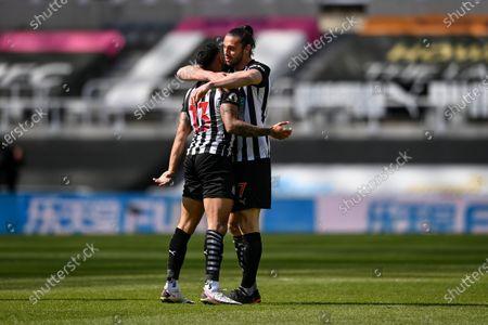 Editorial image of Newcastle United vs West Ham United, United Kingdom - 17 Apr 2021