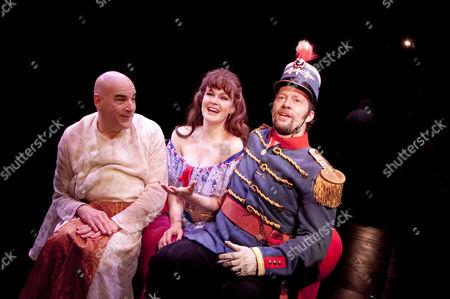 'Paradise Found' - Mandy Patinkin (Eunuch), Kate Baldwin (Mizzi), Shuler Hensley (Baron)