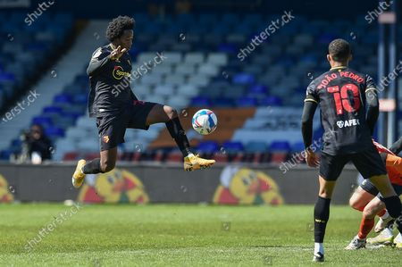 Editorial image of Luton Town v Watford, EFL Sky Bet Championship - 17 Apr 2021