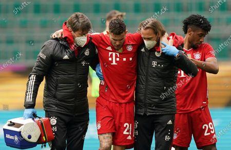 Editorial picture of Soccer Bundesliga, Wolfsburg, Germany - 17 Apr 2021