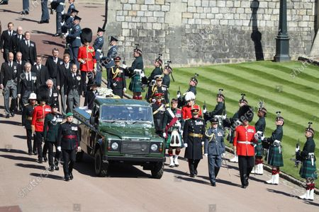 Editorial picture of Prince Philip Funeral, Windsor, United Kingdom - 17 Apr 2021