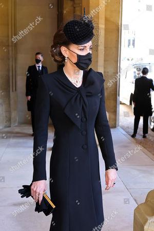 Editorial photo of The funeral of Prince Philip, Duke of Edinburgh, State Entrance, Windsor Castle, Berkshire, UK - 17 Apr 2021