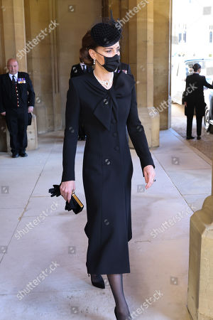 Editorial picture of The funeral of Prince Philip, Duke of Edinburgh, State Entrance, Windsor Castle, Berkshire, UK - 17 Apr 2021