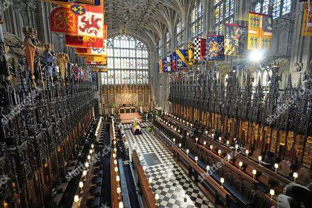 Service, funeral of Prince Philip, Duke of Edinburgh, Windsor Castle