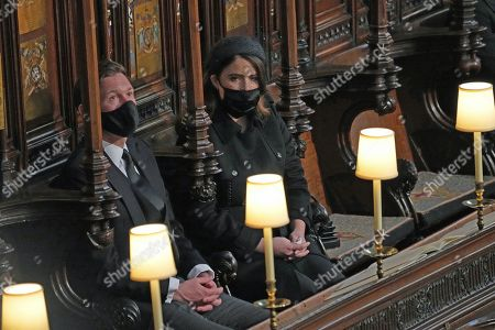 Editorial picture of The funeral of Prince Philip, Duke of Edinburgh, Service, St George's Chapel, Windsor Castle, Berkshire, UK - 17 Apr 2021