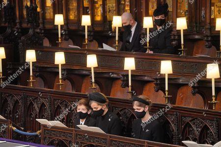 Editorial photo of The funeral of Prince Philip, Duke of Edinburgh, Service, St George's Chapel, Windsor Castle, Berkshire, UK - 17 Apr 2021