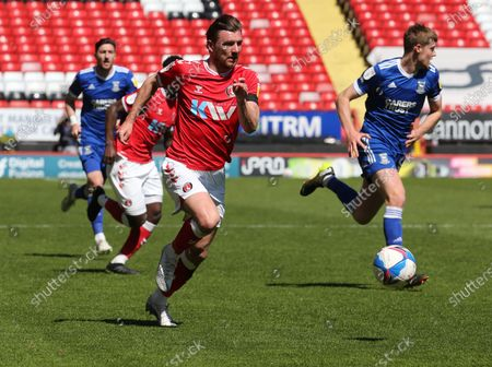 Editorial photo of Charlton Athletic v Ipswich Town - Sky Bet League One, Woolwich, United Kingdom - 17 Apr 2021