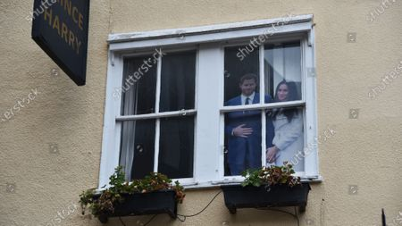 """Stock Image of Meghan Markle """"Shows Up"""" In Windsor"""