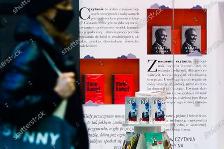 Editorial image of The Obama Memoirs In Polish Bookstores, Kraków, Poland - 17 Apr 2021