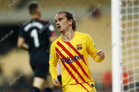 Editorial image of Athletic Club v FC Barcelona, Copa del Rey final, Football, Olimpico de La Cartuja Stadium, Sevilla, Spain - 17 APR 2021