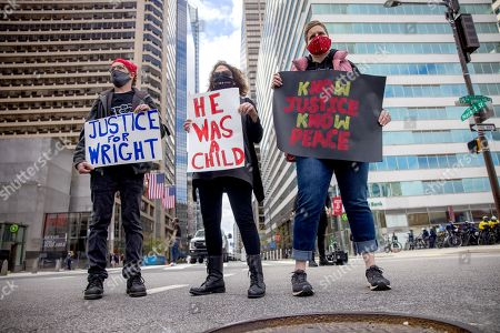 Daunte Wright Protest, Philadelphia