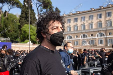 Editorial photo of 'Bauli in Piazza' in Rome, Italy - 17 Apr 2021