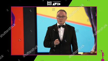 American Cinema Editors President Kevin Tent, ACE, welcoming guests at the 71st Annual ACE Eddie Awards