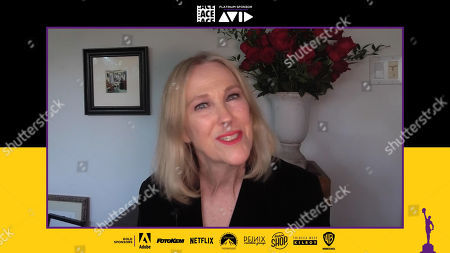 Stock Image of Catherine O'Hara presenting at the 71st Annual ACE Eddie Awards