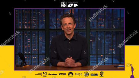 Stock Image of Seth Meyers presenting at the 71st Annual ACE Eddie Awards