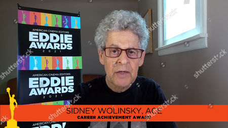 Sidney Wolinsky, ACE receives the ACE Career Achievement Award at the 71st Annual ACE Eddie Awards