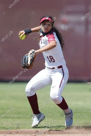 Editorial image of Pacific Softball, Santa Clara, United States - 17 Apr 2021