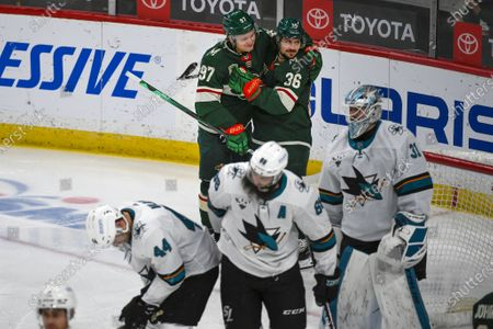 Editorial photo of Sharks Wild Hockey, St. Paul, United States - 17 Apr 2021