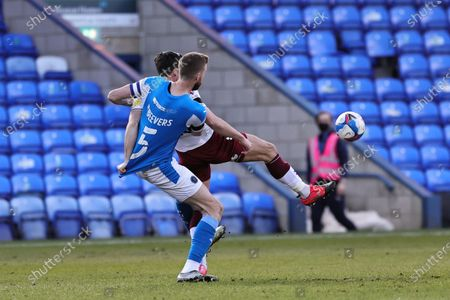 Editorial photo of Peterborough United v Northampton Town - Sky Bet League One, United Kingdom - 16 Apr 2021