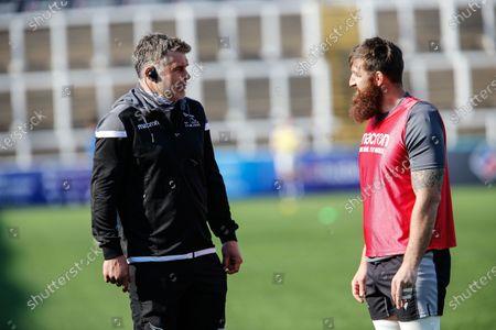 Editorial photo of Newcastle Falcons v Bristol Bears - Gallagher Premiership Rugby, Newcastle upon Tyne, United Kingdom - 17 Apr 2021