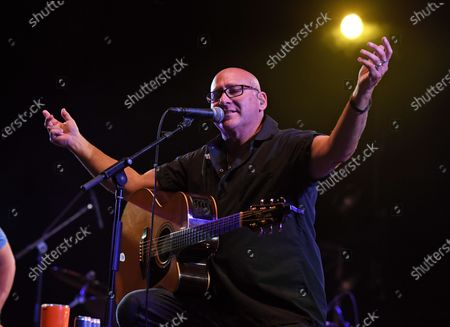 Stock Image of Ken Block of Sister Hazel performs at the Old School Square Pavilion, Delray Beach, Florida, USA - 17 Apr 2021